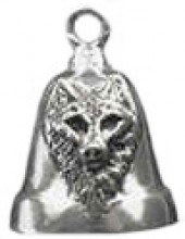 Nice Wolf Sterling Silver Ride Bell ® - Product Image