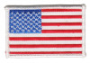 "American FlagMilitary Patch3 1/4"" x 2""FREE SHIPPING"