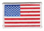"American FlagMilitary Patch3 1/4 "" x 2""FREE SHIPPING - Product Image"