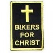 "BIKERS FOR CHRIST 2"" x 3"" - Product Image"