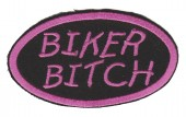 "Biker BitchBiker Patch3 1/2 "" x 2""FREE SHIPPING - Product Image"