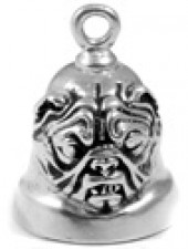 Bull Dog  Motorcycle Ride Bell ®  Sterling Silver - Product Image