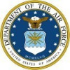 DEPARTMENT OF THE AIR FORCE UNITED STATES OF AMERICA  Military Sticker