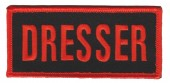 "Dresser Biker Patch1 3/4""x 4""FREE SHIPPING - Product Image"