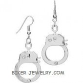 Earrings  Stainless Steel  Medium Handcuff  FREE SHIPPING - Product Image
