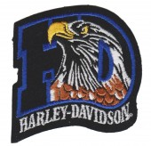 "Harley-Davidson ® / HD EagleHarley ®  Patch3 1/4"" x 3 1/4""FREE SHIPPING - Product Image"