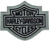 Harley Davidson ®  Reflective Bar and SheildHarley ® PatchAvailable in 2 SizesFREE SHIPPING - Product Image