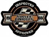 "Harley Davidson ® 1903Harley ®  Patch5"" x 4""FREE SHIPPING - Product Image"