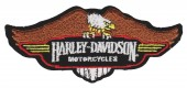 "Harley-Davidson ® Perched EagleHarley ® Patch5 1/4"" x 2 1/4""FREE SHIPPING - Product Image"