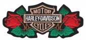 "Harley-Davidson ® RosesHarley ® Patch2 3/4 "" x 6""FREE SHIPPING - Product Image"