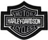 Harley-Davidson ® Grey Bar & Shield Logo Harley ® PatchAvailable in 3 SizesFREE SHIPPING
