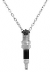 Harley-Davidson®  Stainless Steel  Spark Plug Necklace