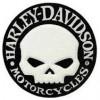 Harley-Davidson ® Willie G  Willie G. Skull Patch4 Inches Round FREE SHIPPING
