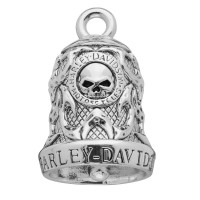 Harley Davidson ® Mod Jewelry ® Wild Tribal Flame Willie G. Ride Bell  FREE SHIPPINGHRB074 - Product Image