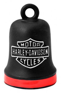 Harley Davidson ® Motorcycle Ride Bell ® Firefighter Red StripeFREE SHIPPINGHRB101 - Product Image