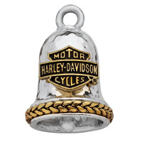 Harley Davidson ®/Mod ® Two- Tone Bar and Shield Logo Motorcycle Ride Bell ®  FREE SHIPPINGHRB080 - Product Image