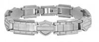 Harley-Davidson® Motorcycle Biker Stainless Steel Bracelet Mod Jewelry®HSB0192  - Product Image