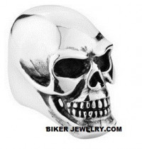 Huge  Stainless Steel  Biker Skull Ring  Sizes 9-15  FREE SHIPPING - Product Image