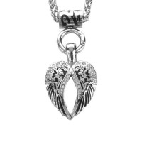 Ladies  Angel Wing Pendant  Stainless Steel  FREE SHIPPING - Product Image