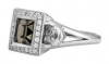 Women's   Harley-Davidson ®  Sterling Silver  Black Ice Ring  by Mod ®  Available in Sizes 5-9HDR0362