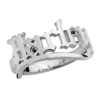 Ladies Harley-Davidson ®  Sterling Silver Old English by MOD ®HDR0530 - Product Image