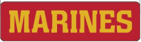 MARINES  Helmet Sticker - Product Image