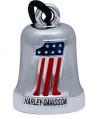Harley-Davidson® Classic #1 American Flag Ride BellFREE SHIPPINGHRB070