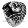 Men's  Stainless Stee l Indian Chief Ring  Sizes 8-16  FREE SHIPPING