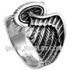 Men's  Stainless Steel Winged Wheel  Classic Motorcycle Biker Ring  Sizes 9-16  FREE SHIPPING