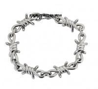 Men's Barbwire Bracelet  Stainless Steel  FREE SHIPPING - Product Image