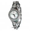 Ladies Motorcycle Bike Chain Watch  Stainless Steel  FREE SHIPPING