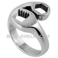 Stainless Steel  Wrench Ring  Sizes 7-18  FREE SHIPPING - Product Image