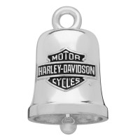 Motorcycle Ride Bell Harley Davidson ® Bar and Shield Logo By Mod Jewelry ®  FREE SHIPPINGHBR013 - Product Image