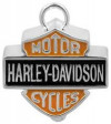 Motorcycle Ride Bell Harley-Davidson ® Colored Logo Mod Jewelry® FREE SHIPPINGHBR023