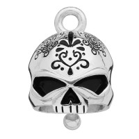 Motorcycle Ride Bell Harley-Davidson® Sugar Skull Mod Jewelry®  FREE SHIPPINGHRB041 - Product Image