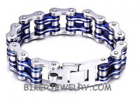 Motorcycle Stainless Steel Bike Chain Bracelet  FREE SHIPPING - Product Image