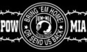 "POW MIA BRING 'EM HOME OR SEND US BACK3"" x 4 1/2 "" - Product Image"