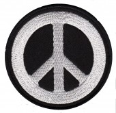 "PeaceBiker Patch 3"" x 3"" RoundFREE SHIPPING - Product Image"