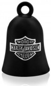 Ride Bell ®  Harley-Davidson ®  Made by Mod ®  Black with a Chrome Logo  FREE SHIPPINGHRB059