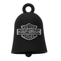 Ride Bell ®  Harley-Davidson ®  Made by Mod Jewelry®  Black with a Chrome Logo  FREE SHIPPINGHRB059  - Product Image