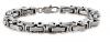 Stainless Steel Byzantine Bracelet 6mm FREE SHIPPING
