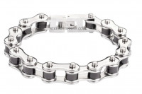 Stainless Steel Motorcycle Biker Chain Bracelet  SHIPPING - Product Image