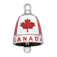 Stainless Steel Motorcycle Ride Bell ® CANADA  FREE SHIPPING - Product Image