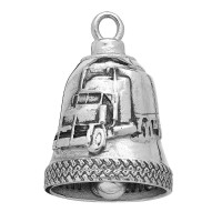 Stainless Steel Motorcycle Ride Bell ® Semi-Truck  FREE SHIPPING - Product Image