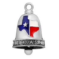 Stainless Steel Motorcycle Ride Bell ® TEXAS  FREE SHIPPING - Product Image