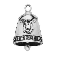 Stainless Steel Motorcycle Ride Bell ® SHOVELHEAD  FREE SHIPPING - Product Image