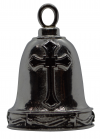 Stainless Steel Ride Bell ®Christian Cross   FREE SHIPPING