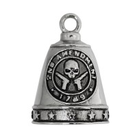 Stainless Steel Ride Bell ® 2nd Amendment  FREE SHIPPING - Product Image