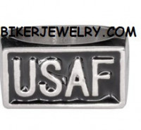 Stainless Steel USAF AIR FORCE Military Ring  FREE SHIPPING - Product Image