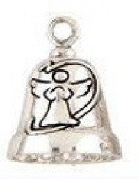 Sterling Silver Angel Motorcycle Ride Bell ® - Product Image